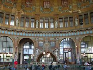 Prague Central Station interior
